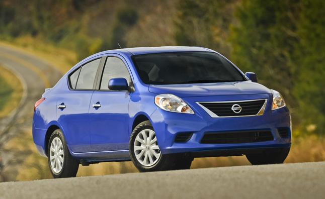 8. Nissan Versa (-8.7%)