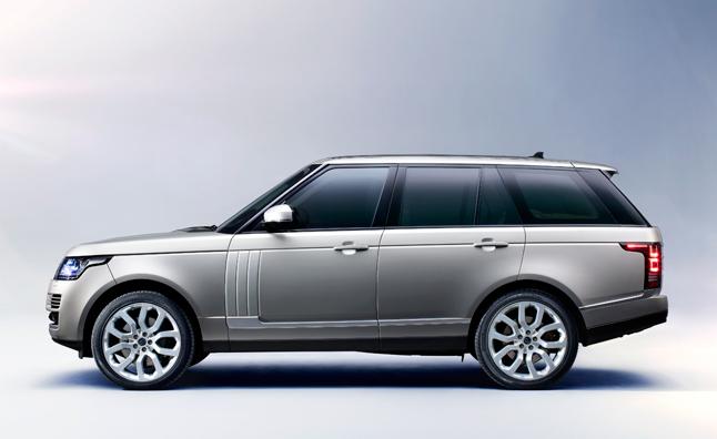 1. Land Rover Range Rover (+3.3%)