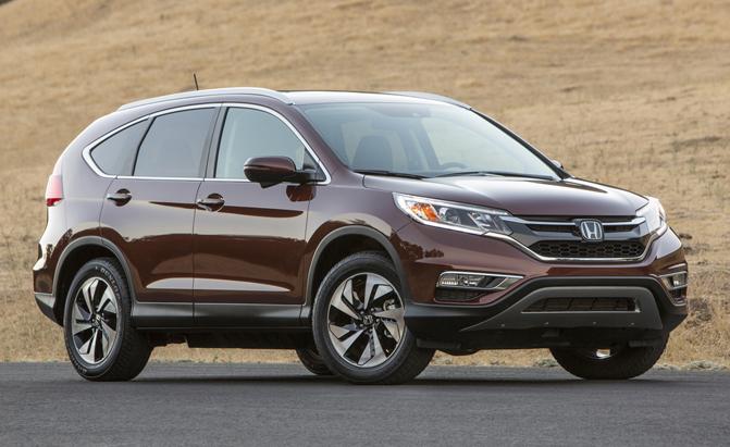 10. Honda CR-V (-9%)