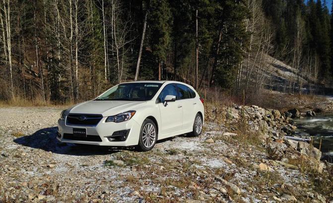 2. Subaru Impreza (-3%)