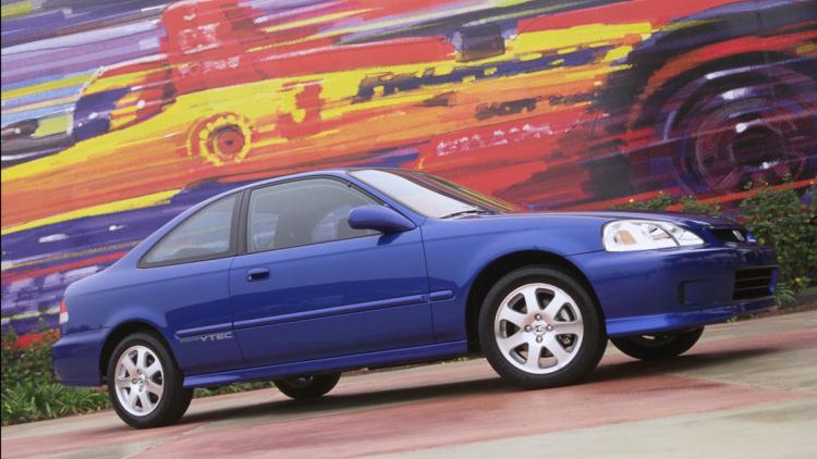 honda civic 6 поколения coupe