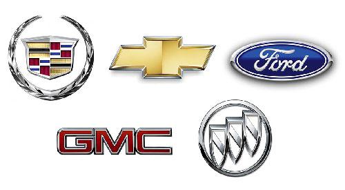 Все Американские автомобильные марки
