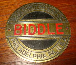 Biddle Motor Car Company
