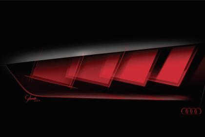 Новый электрический внедорожник Audi Q6 E-tron появится во Франкфурте