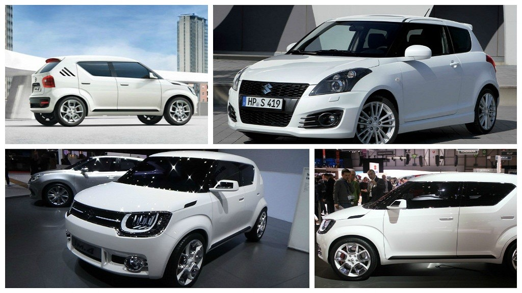 ������������ � �������� Suzuki Swift ������� �� ���������� �������� Baleno ����