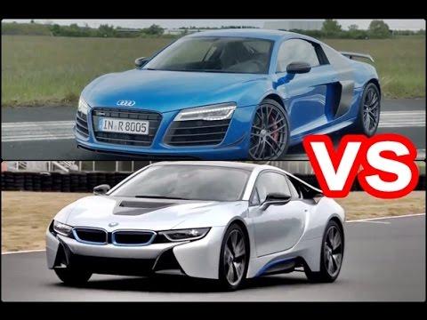 Опрос: BMW i8 или Audi R8?