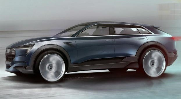 Новый концепт от Audi - e-tron quattro