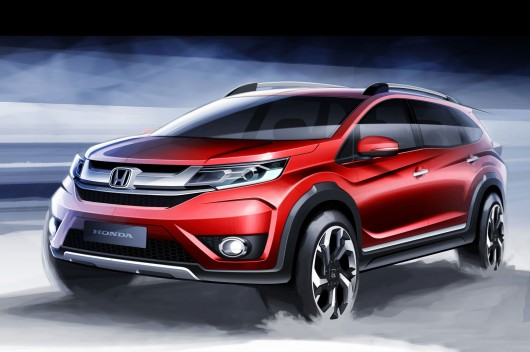 2017 Honda BR-V: Новый семиместный кроссовер
