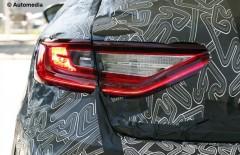 Новый Renault Megane 2016 - свежие шпионские снимки