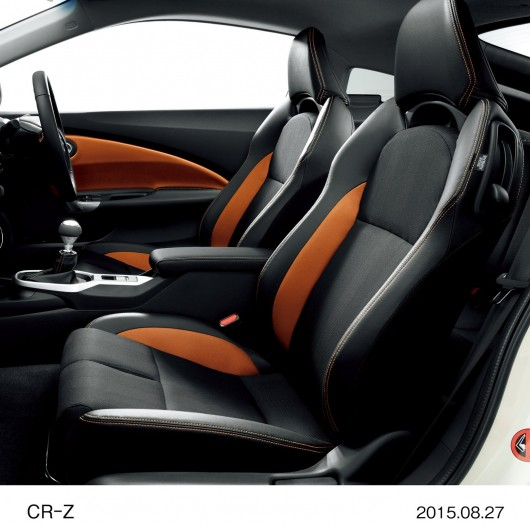 Обновленный 2016 Honda CR-Z официально запущен в производство в Японии 80 фото