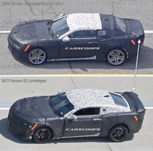 Стали доступны шпионские фотографии нового Chevy Camaro ZL1