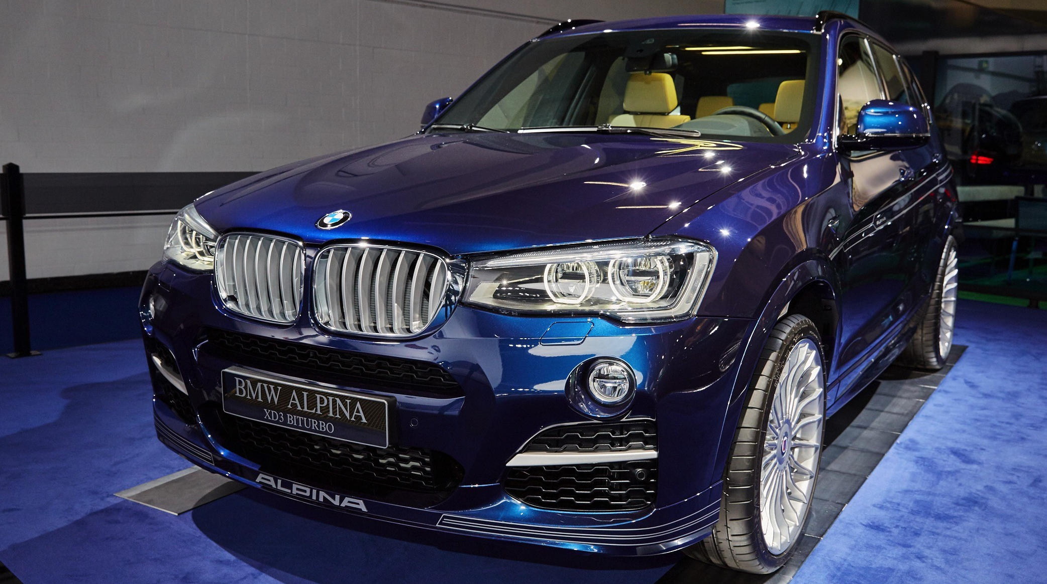 2016 Alpina XD3 Biturbo: Рестайлинг + дизель фото