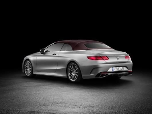 Состоялось официальное представление кабриолета Mercedes-Benz S-класс