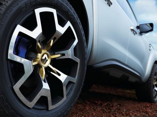 Концепткар Renault Alaskan Concept, французский пикап 2016