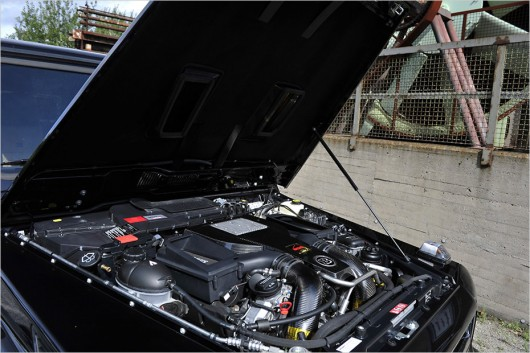 Brabus 850 Biturbo WideStar: Новый тюнинг внедорожника G-класса