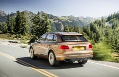 Официально представлен новый внедорожник Bentley Bentayga