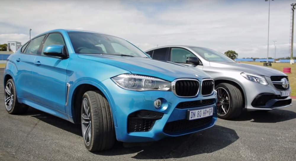 Mercedes-AMG GLE 63 S Coupe ����������� BMW's X6 M