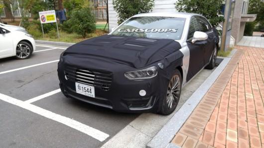 2017 Hyundai Equus, корейский S-Class