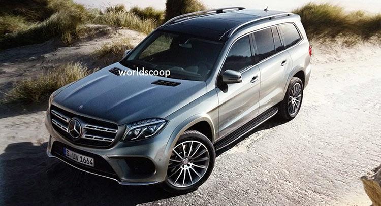 Внешний вид 2017 Mercedes-Benz GLS (бывший GL)