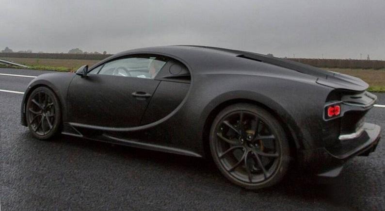 Прототип 2016 Bugatti Chiron, первые технические характеристики, фото, видео
