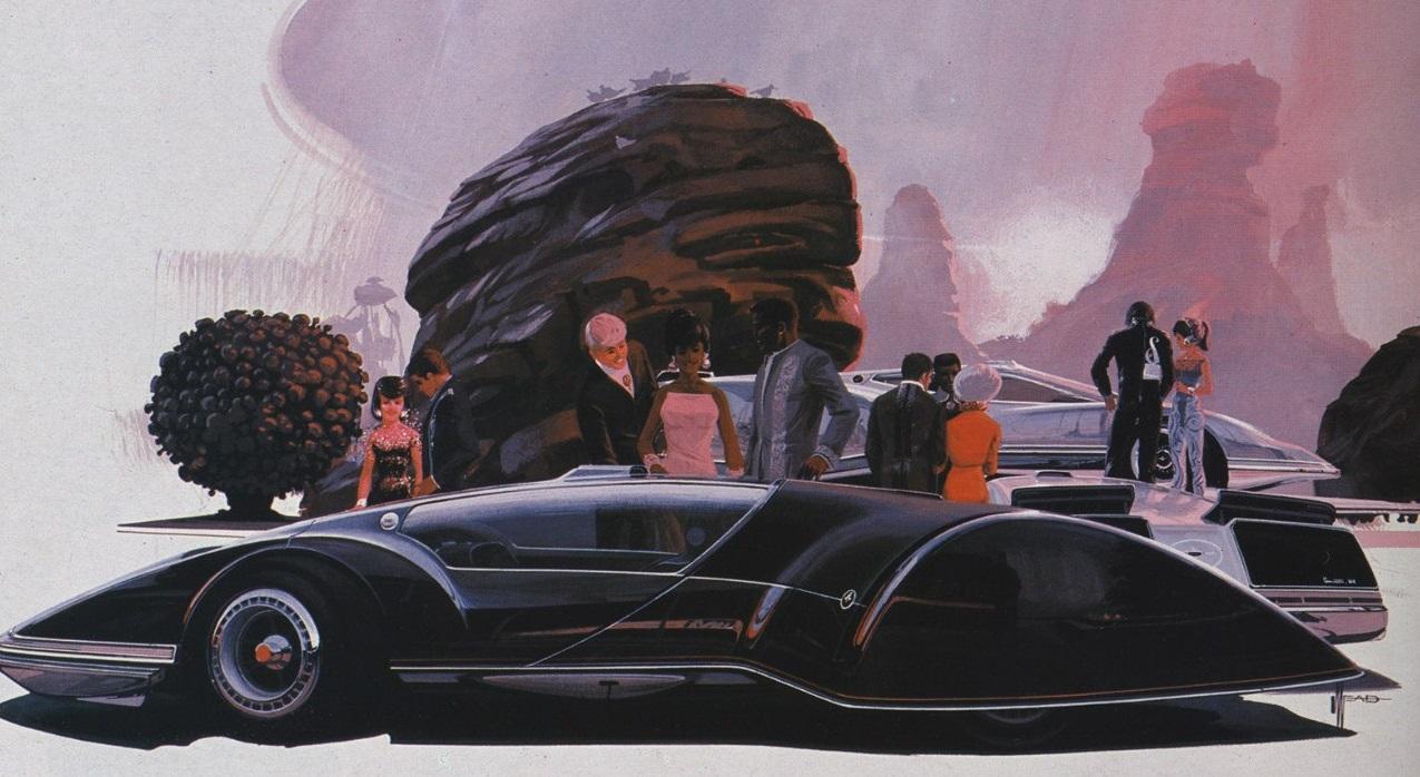 необычные концепт кары 50-х