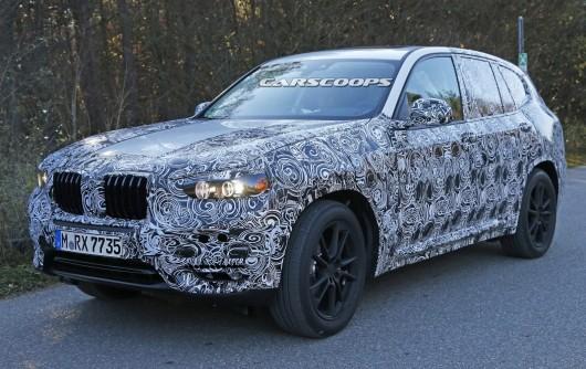 2018 BMW X3 (G01): Первые фотографии
