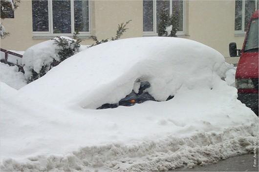 Десять ошибок водителей зимой