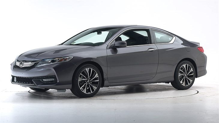 Краш-тест 2016 Honda Accord Coupe