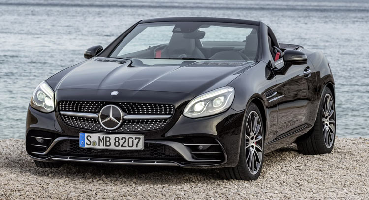 ������� ����� 2017 Mercedes-Benz SLC ����