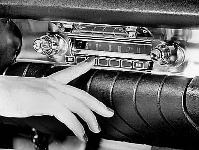 Первая в истории автопромышленности радиомагнитола
