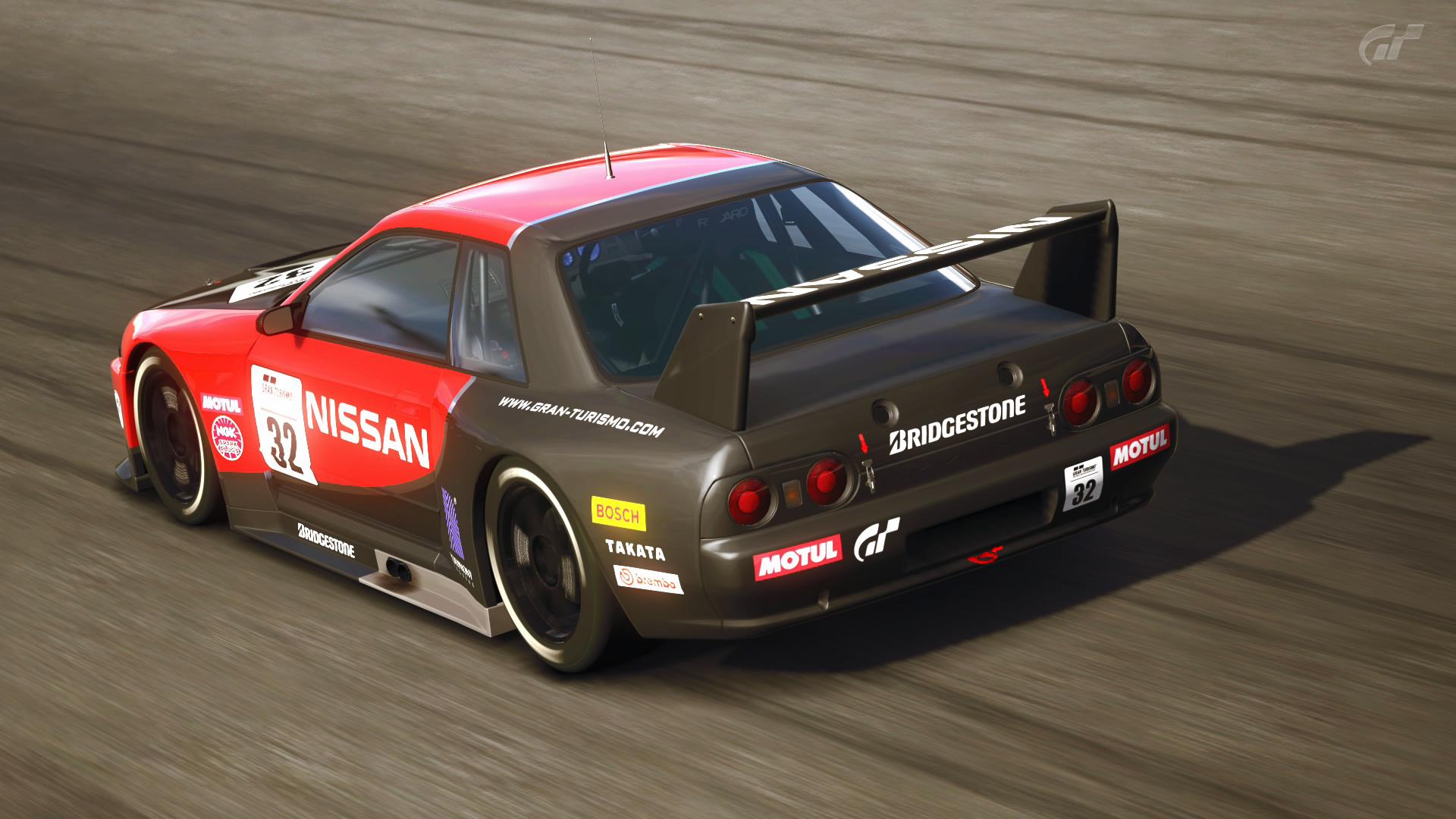 в каких гонках есть nissan skyline r32