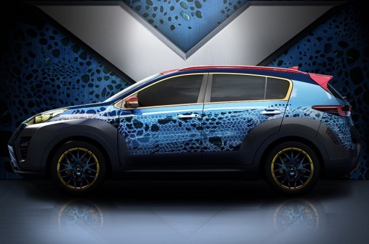 ����������� 2017 Kia Sportage X-Men