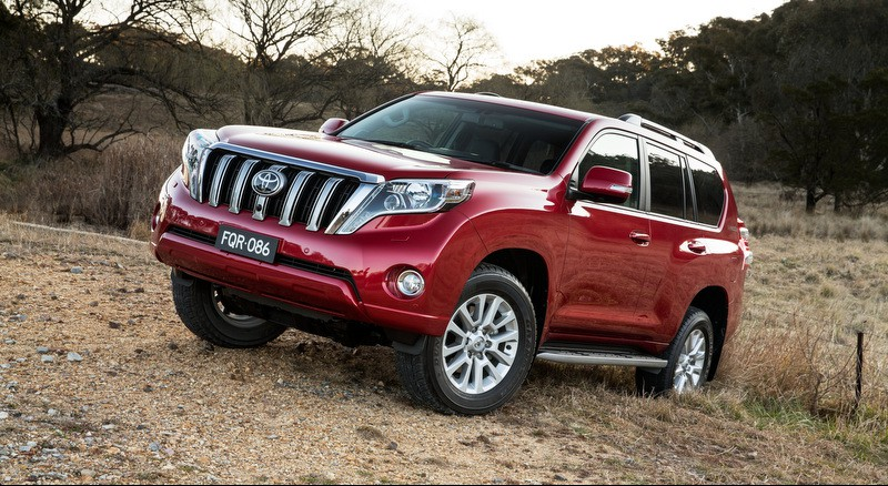 2016 Toyota Land Cruiser Prado: Обзор