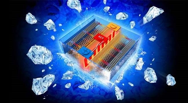 Самообогревающиеся батареи решат проблему потери мощности в холодную погоду