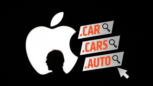 Apple зарегистрировала несколько автомобильных доменных имен