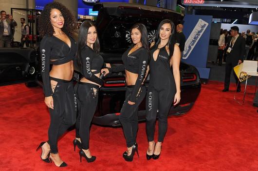 Самые красивые девушки на выставке CES в Лас-Вегасе