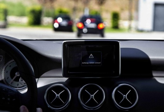 Новые Mercedes E-класса 2016 года могут говорить друг с другом