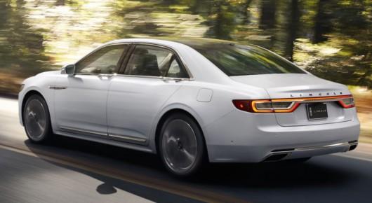 Дебют 2017 Lincoln Continental, первые фото, технические характеристики