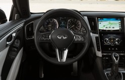 Comparison of the new Infiniti Q60 old compartment Infiniti