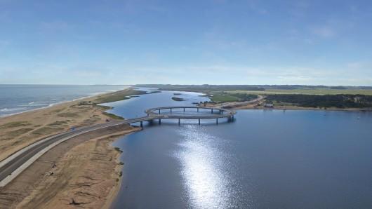 Необычный мост в Уругвае