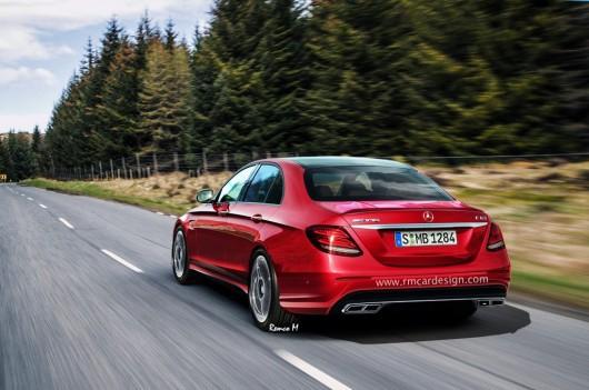 Как будет выглядеть 2017 Mercedes-AMG E63 в реальности?