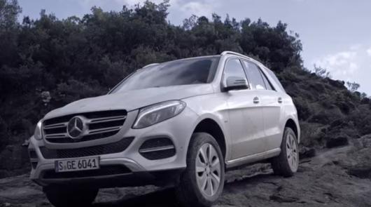 Mercedes-Benz GLE не боится бездорожья