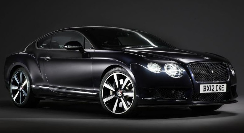 Первый начальный обзор Bentley Continental GT V8