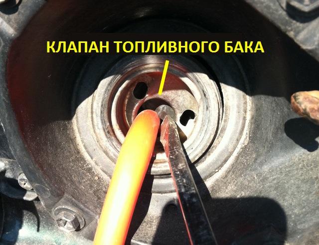 слить бензин из бензобака мерседеса