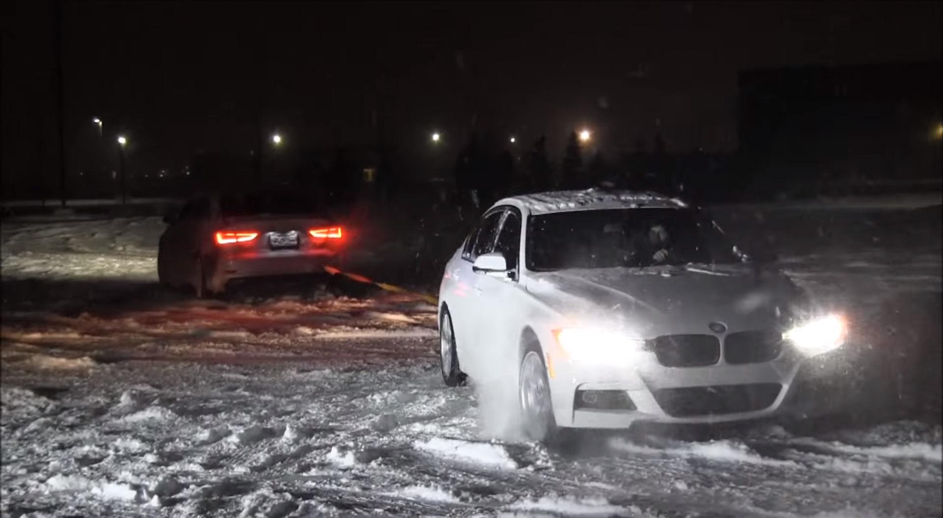 Видео: Audi Quattro Vs xDrive | Перетягивание каната