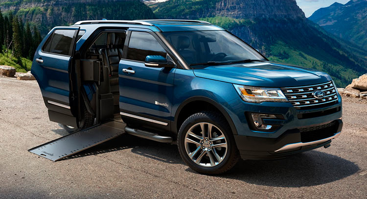Ford Explorer BraunAbility MXV ���� ������ � ���� ������������� ��� ���������-������������ ����