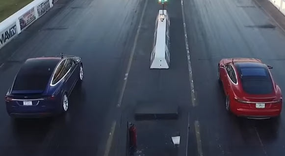 Видео: Кто быстрее Tesla Models S или X?