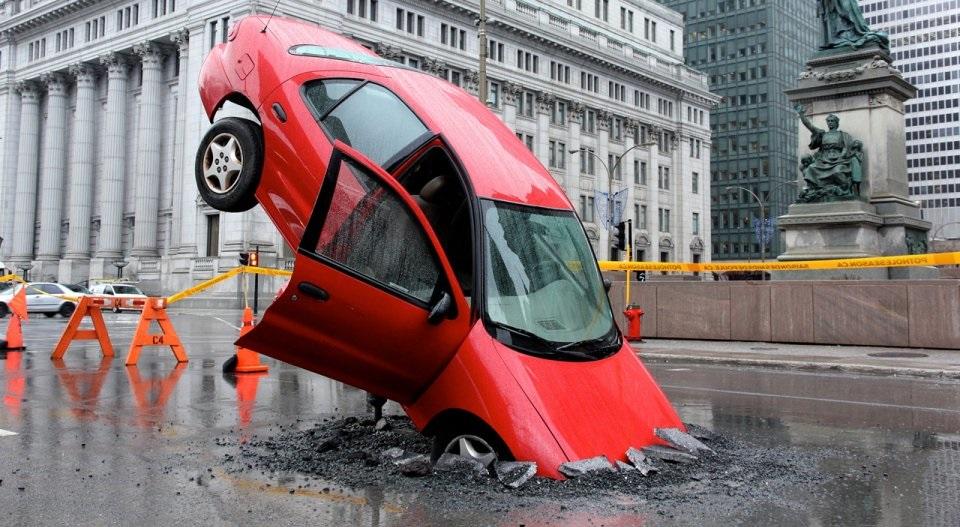 Как можно повредить свой автомобиль