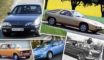 """Все автомобили с 1964 года, победившие в конкурсе """"Лучший Европейский автомобиль"""""""