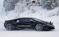 В Сети появились фотографии тестового прототипа Huracan от Lamborghini